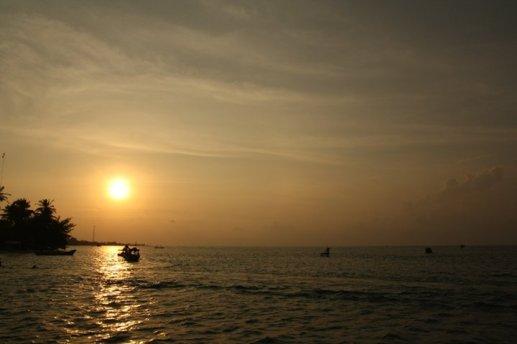 sunset dipualu TIDUNG