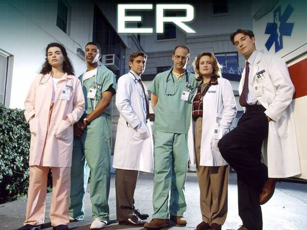 ER is an American medical drama television series created by novelist Michael Crichton that aired on NBC from September 19, 1994 to April 2, 2009. It was produced by Constant c Productions and Amblin Entertainment, in association with Warner Bros.