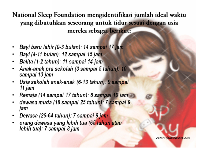 national-sleep-foundation-mengidentifikasi-jumlah-ideal-waktu-tidur